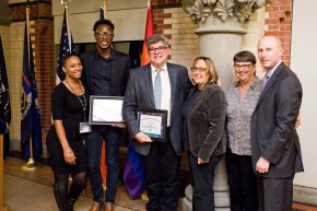 Cy Orfield and Dwight Thomas Receive LGBTQ Awards
