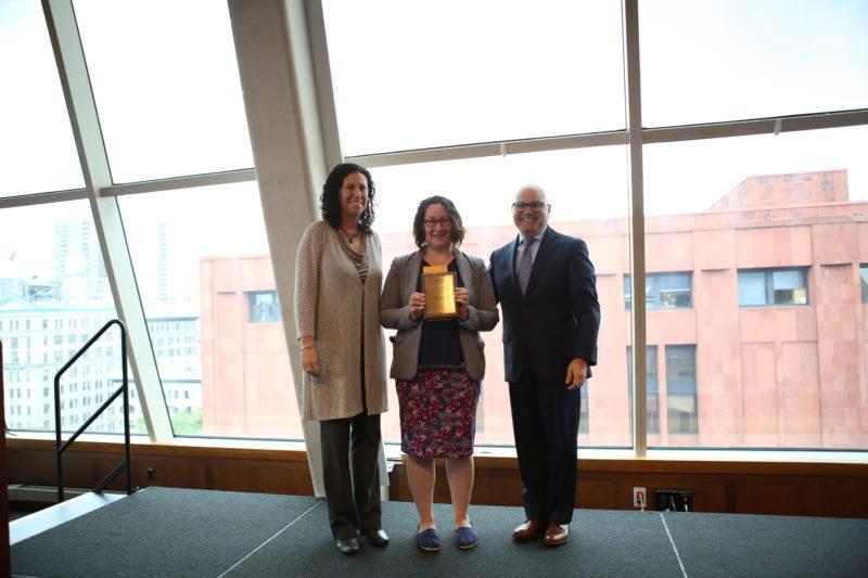 Rhiannon Personick, 2018 JCCA Maslow Award Winner